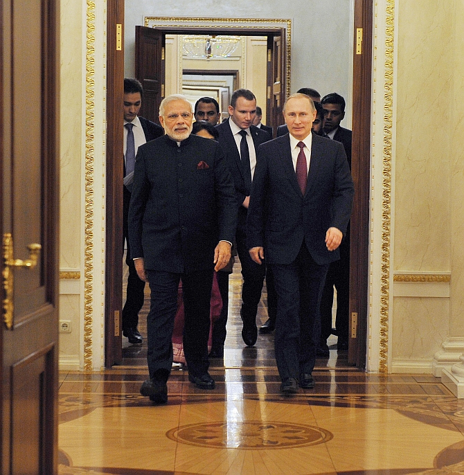 Modi's Moscow agenda: Gen-5 fighters, missiles, frigates...