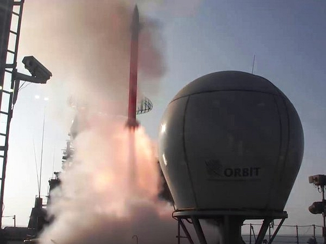 Barak-8 missile successfully tested from INS Kolkata