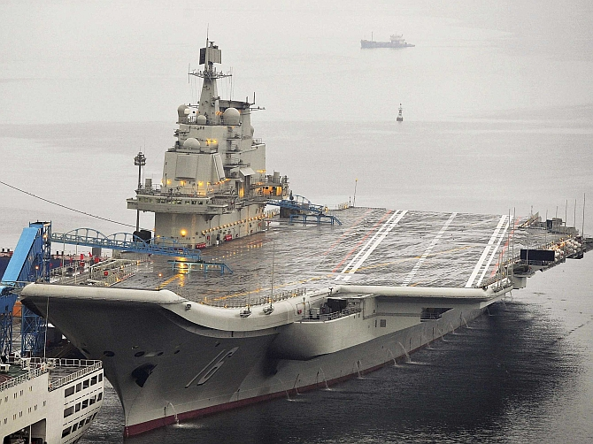China building second aircraft carrier; planning a third