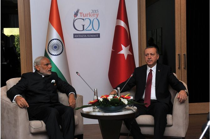 India asks Erdogan not to interfere in Kashmir matter