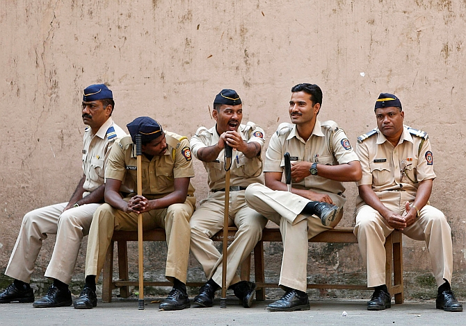Image result for maharashtra police at house