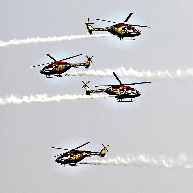 #AeroIndia: Don't miss the marvellous Sarang