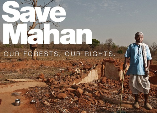 Greenpeace effort to stop mining in the Mahan forest