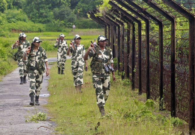 Pakistani intruder killed by BSF along International Border in Jammu