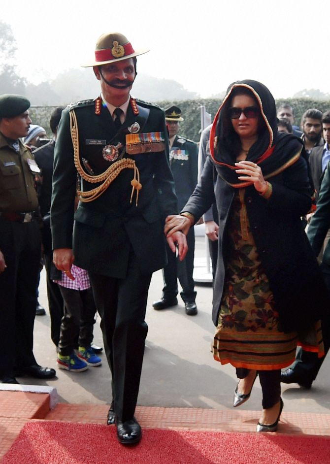 Peace in Kashmir has to be maintained: Gen Suhag on army day