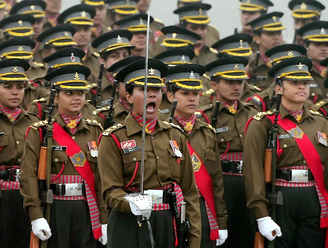 We are second to none, say Army's women officers