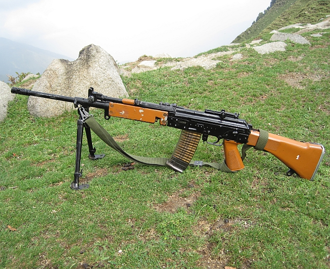 India can't even buy rifles for its troops!