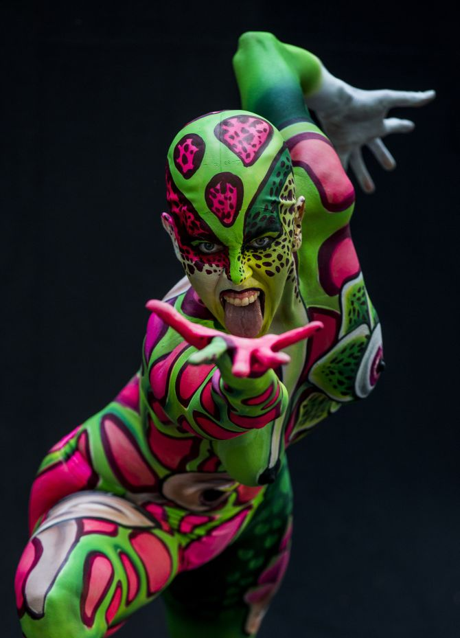Photos Bold And Beautiful Body Art Rediff Com India News