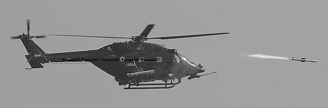 Anti-tank HeliNa missile hits targets in crucial test