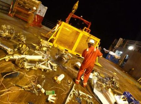 Human remains, wrist watches recovered from Dornier crash site