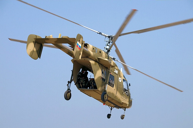 India and Russia will jointly build 200 of these helicopters