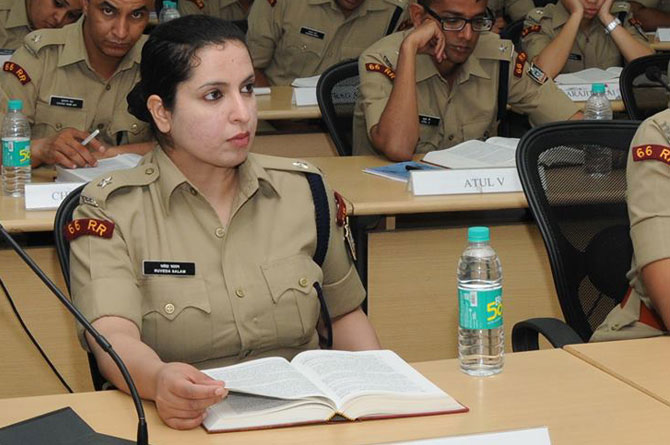 Ruveda Salam, IPS officer, 66 RR IPS batch