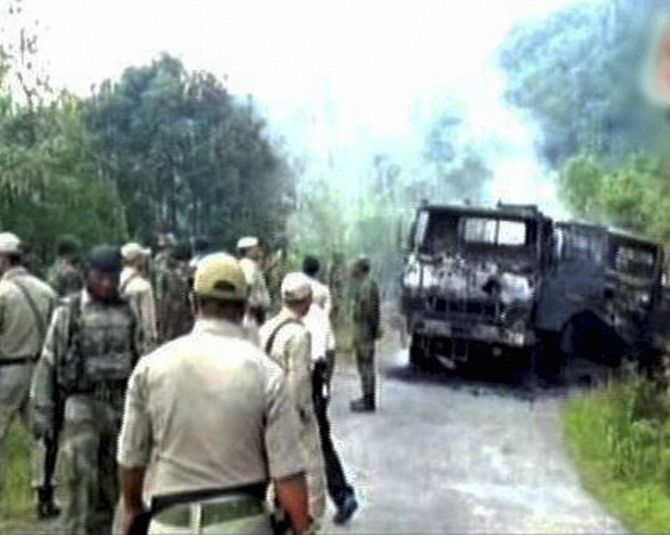 Manipur ambush: Slain militant was member of North-East insurgent group
