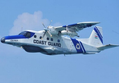 Four days on, no sign of Coast Guard aircraft wreckage