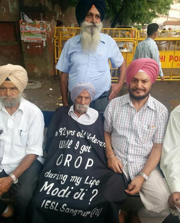 In fight for OROP, ex-soldiers launch nationwide protests