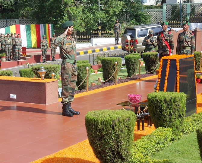 Army's Northern Command celebrates 44th Raising day