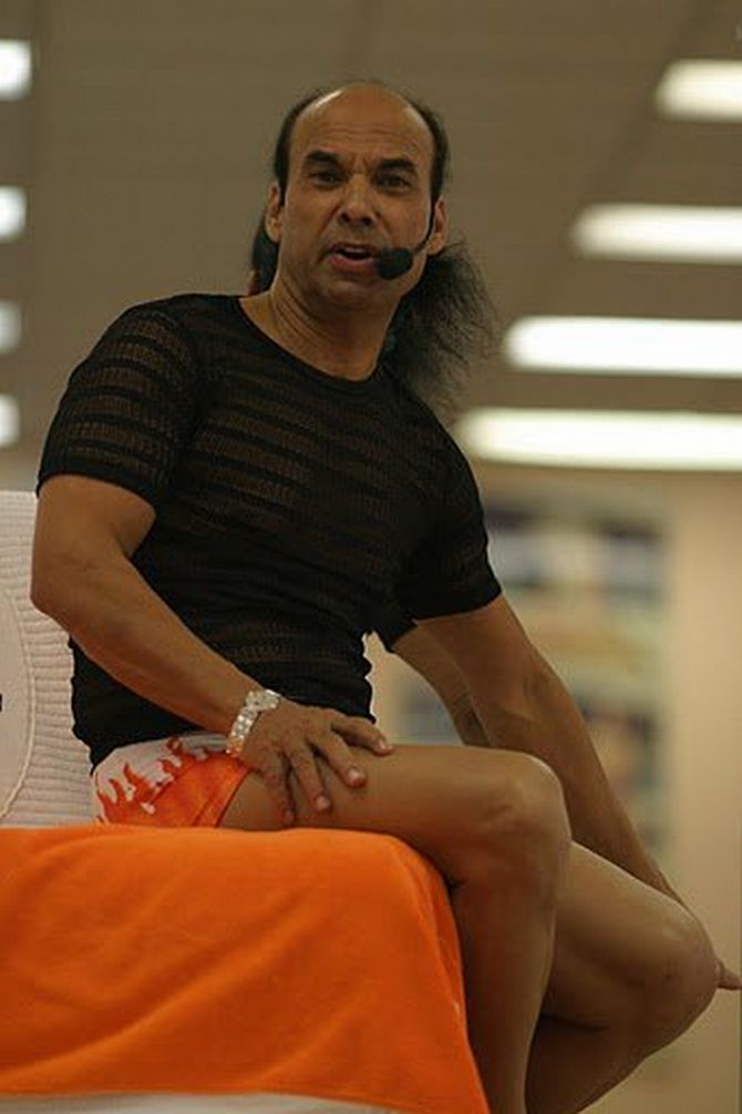 Pix Meet India S 10 Most Renowned Yoga Gurus Rediff Com India News
