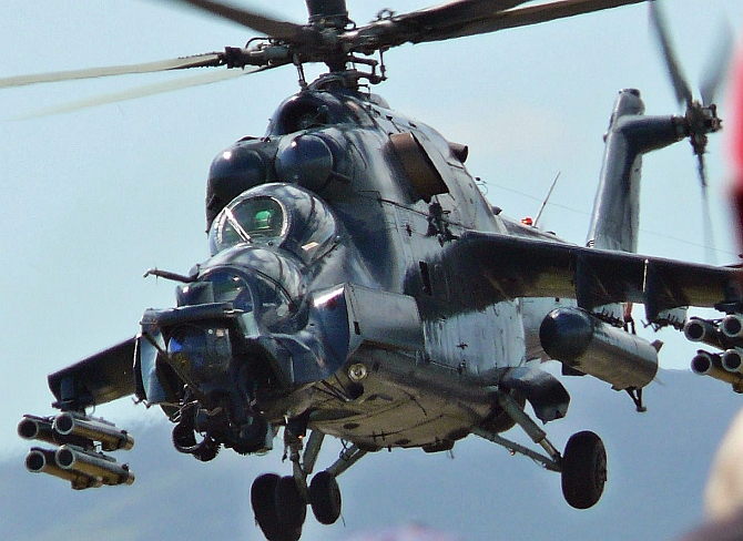 Pakistan set to buy Russian Mi-35 attack helicopters
