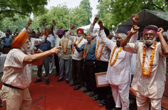Veterans accuse govt of trying to create divide over OROP