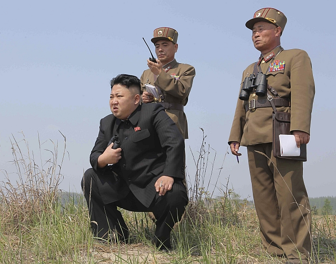 Is Kim Jong Un under threat from his army?