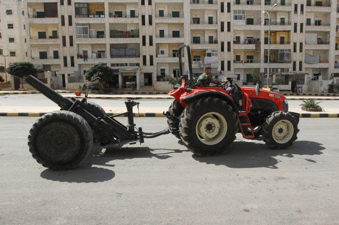 Devastating homemade weapons of Syria - Rediff com India News