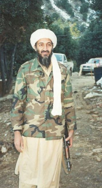 Osama bin Laden in Afghanistan some months before 9/11