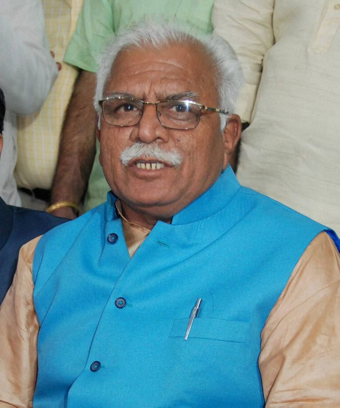 Haryana CM Khattar admits to lapses in handling Dera situation