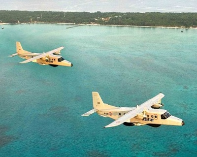 Navy surveillance aircraft crashes in Goa; 1 rescued, 2 missing