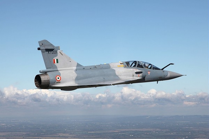 The Mirage 2000, which was deployed in the Balakote strike