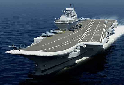 How about Indo-US next-gen aircraft carriers?