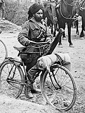 Indian soldier during WWI