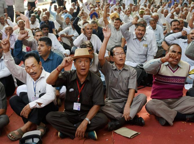 Ex-paramilitary personnel begin stir over demand for OROP