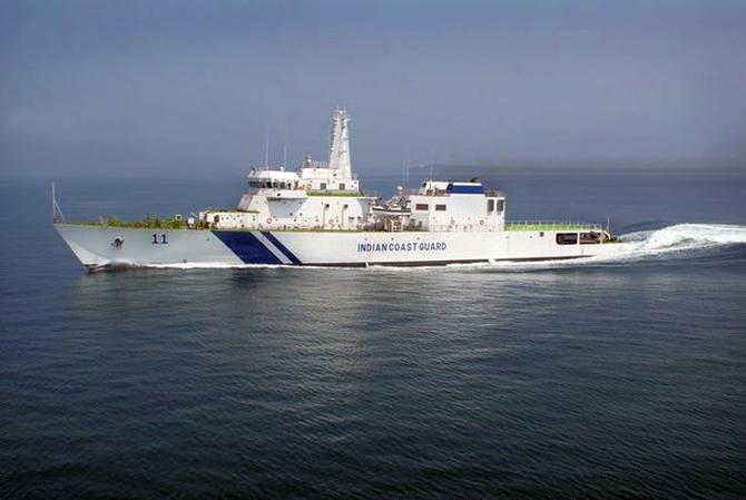 Samarth, Coast Guard's largest offshore patrol ship, enters service