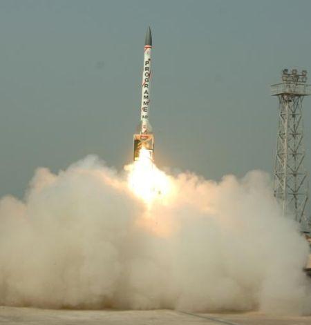 India test-fires indigenously developed interceptor missile