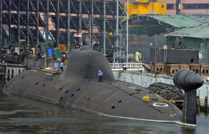 2nd Scorpene-class sub to be commissioned on Sep 28