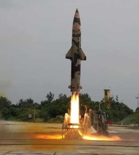 India successfully test-fires nuclear-capable Prithvi II missile