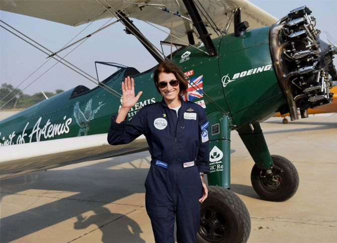 From UK to Australia: She's flying 23 countries in 100 days