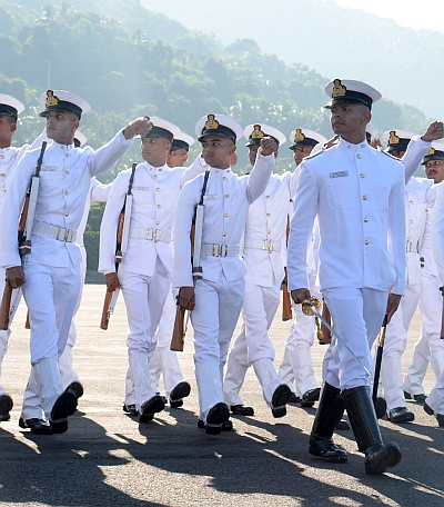 Naval passing out parade: It's about valour and determination
