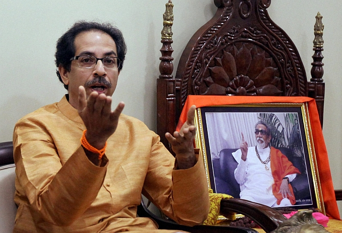 Budget shows govt alarmed by Gujarat poll results: Shiv Sena
