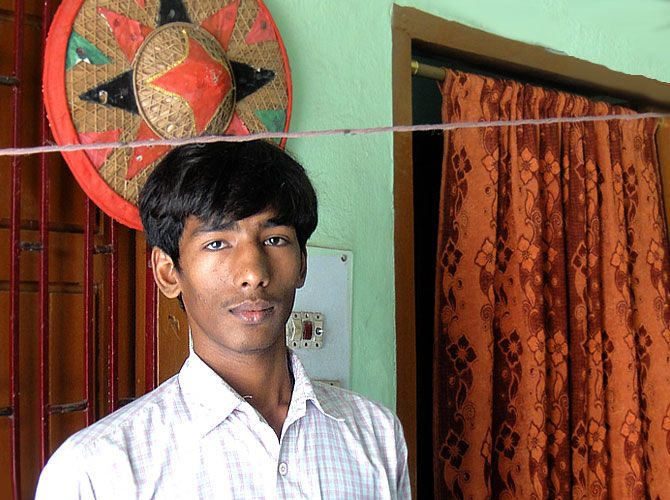 Basant Kumar, a student at Super 30