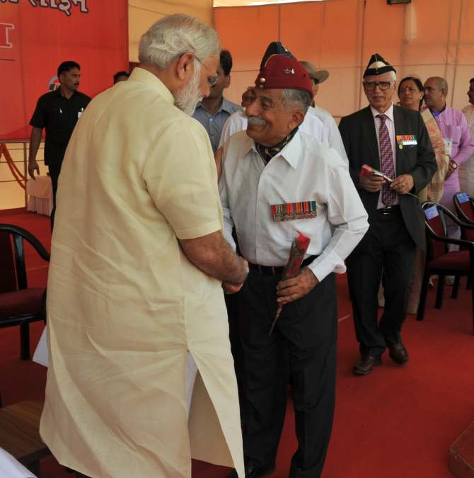 Armed forces personnel who retired prematurely to get OROP: PM Modi