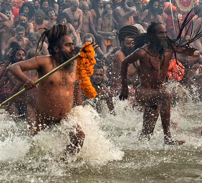 India News - Latest World & Political News - Current News Headlines in India - WATCH: These babas are the main draw at Kumbh Mela
