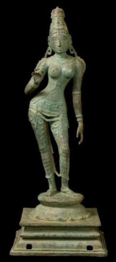 The Uma statue that Vijay Kumar helped locate