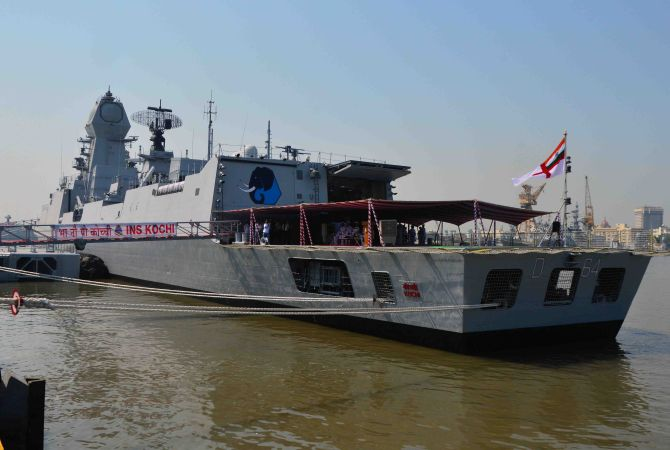 INS Kochi, India's deadliest warship commissioned