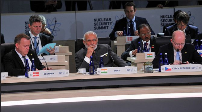 Prime Minister Narendra Modi at the NSS.
