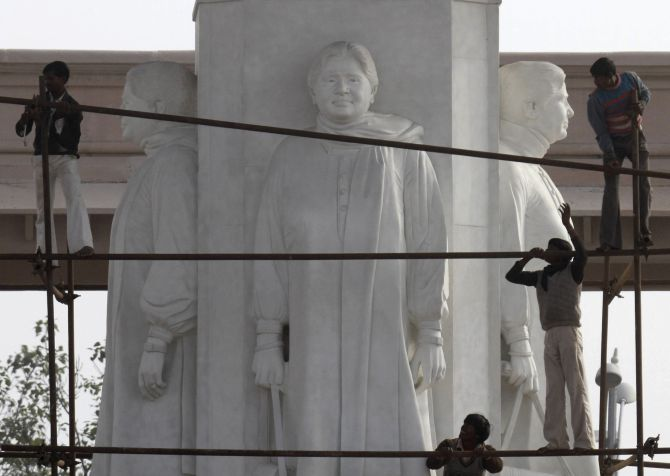 My statues represent 'will of the people': Mayawati