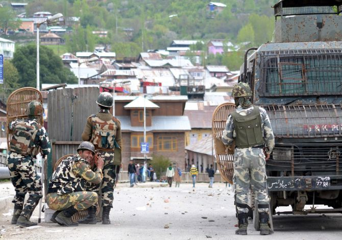 Baramulla, April 2016, after the Handwara incident.