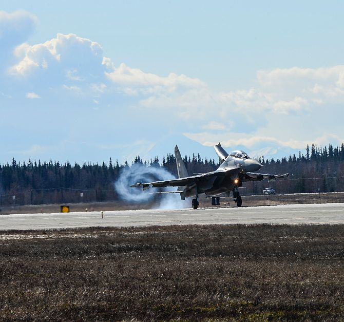 So what are IAF's best fighters doing in Alaska?
