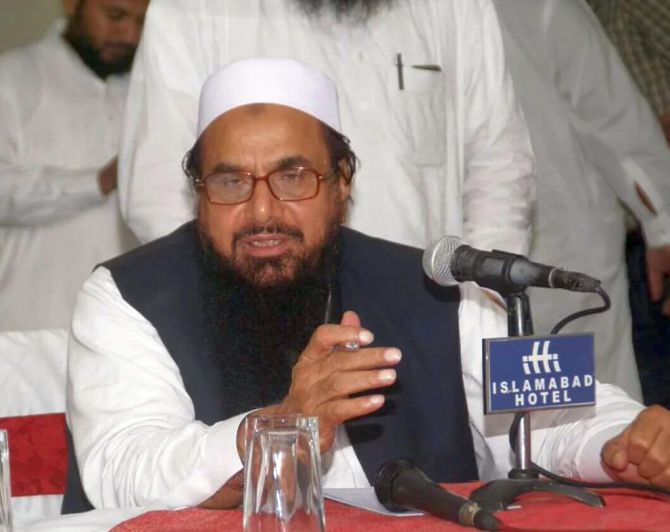 Don't want just window dressing: US on Hafiz arrest