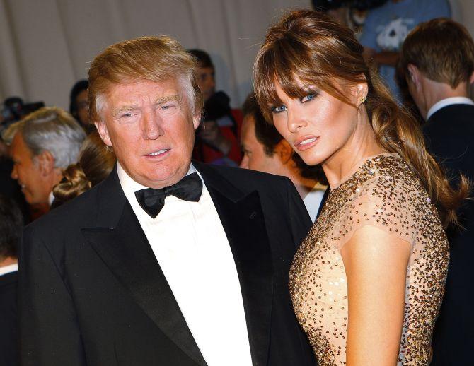 Celebrity Wife Trump Nude Images